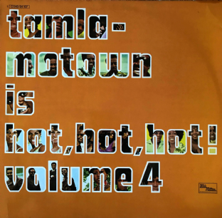 V/A - Tamla Motown Is Hot, Hot, Hot! Volume 4  (LP) (VG/VG)